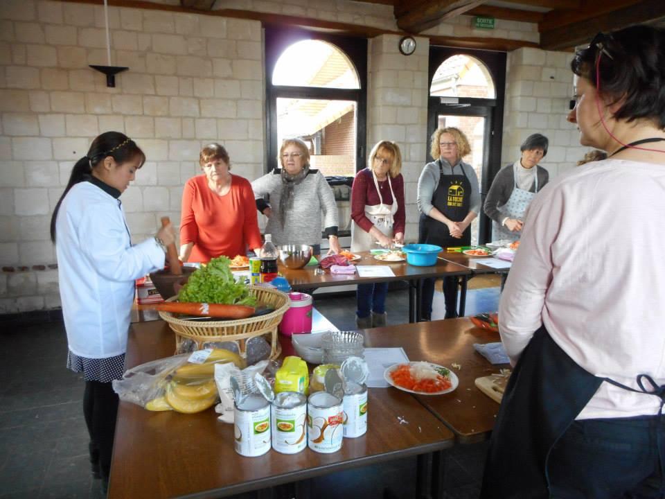 _atelier cuisine Thaie par sawitree Renaux
