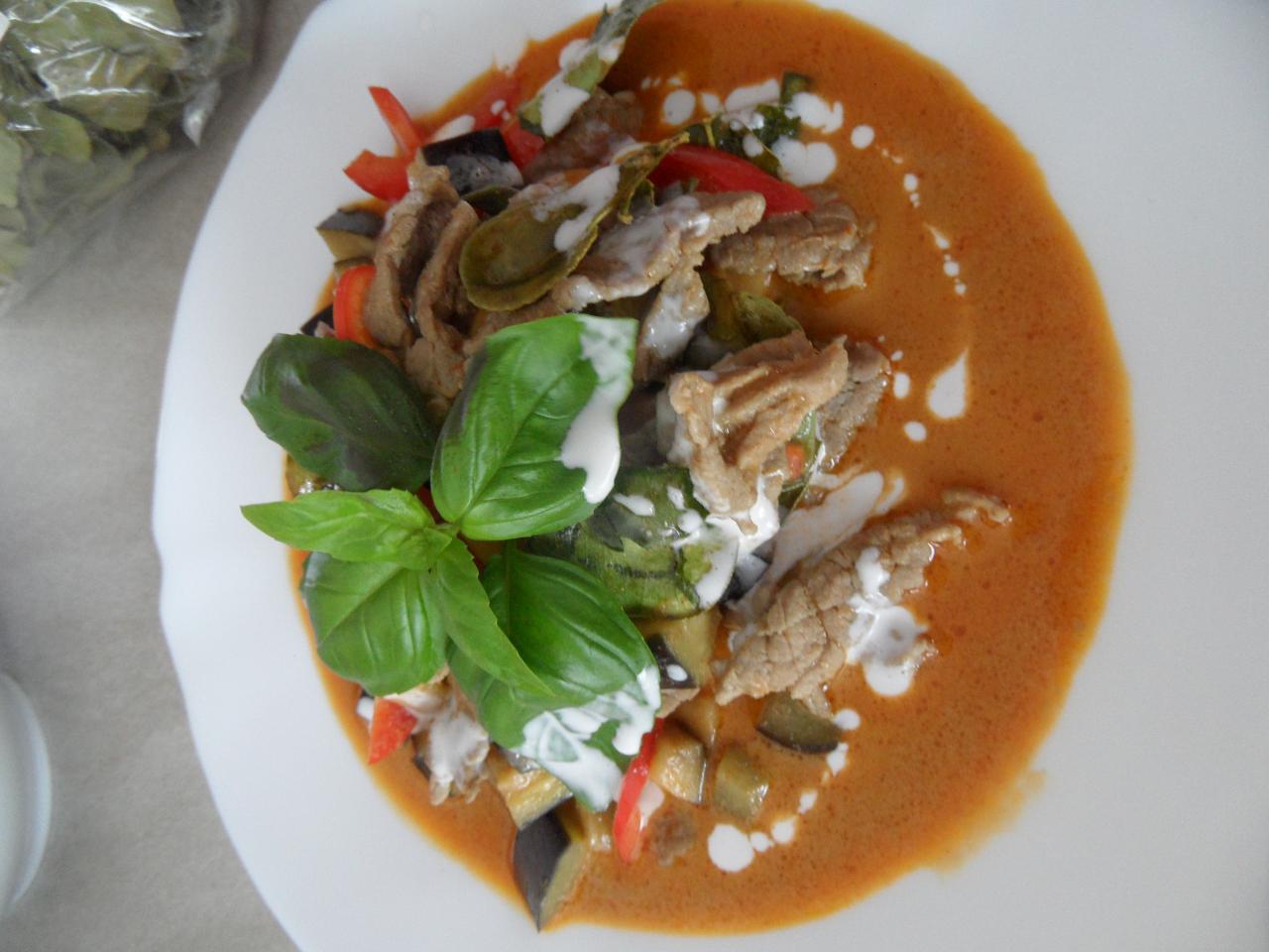 Boeuf au curry par Sawitree Renaux