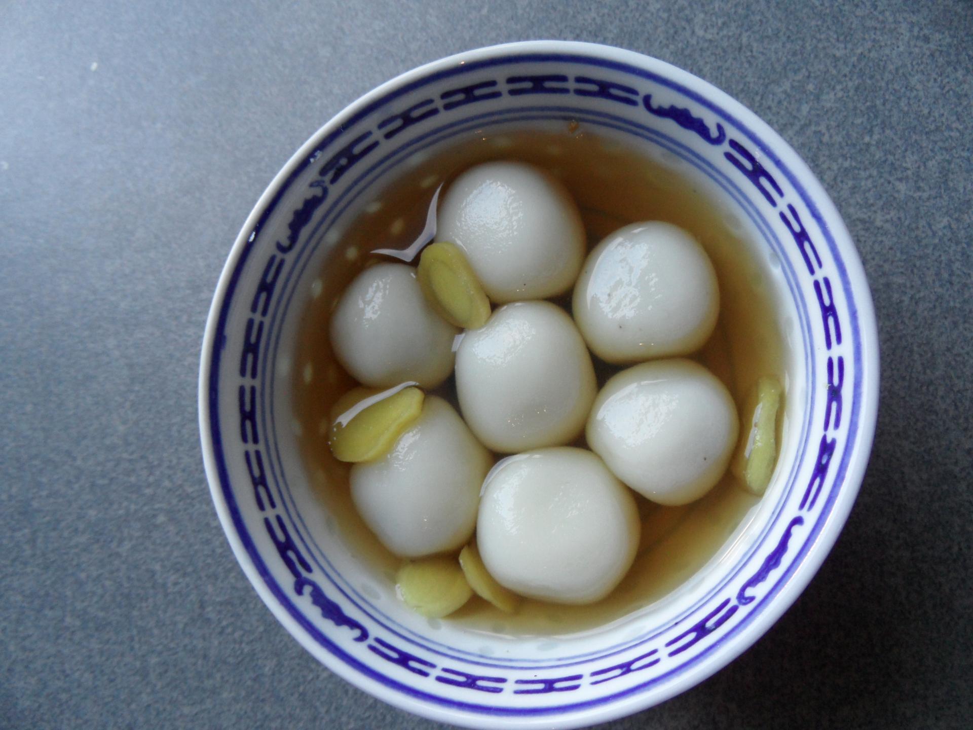 Dessert aux graines de tapioca