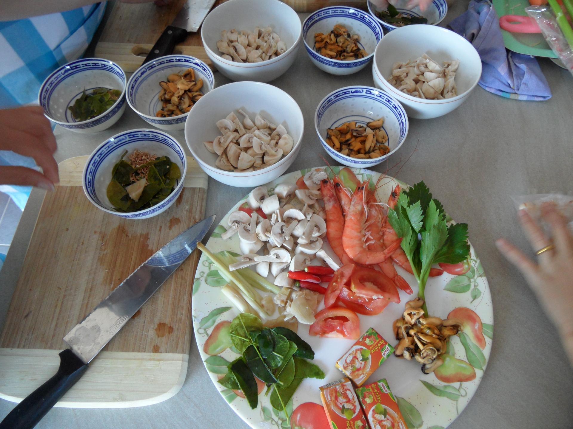 Ateliers de cuisine tha landaise cours de cuisine tha e for Cuisine thailandaise