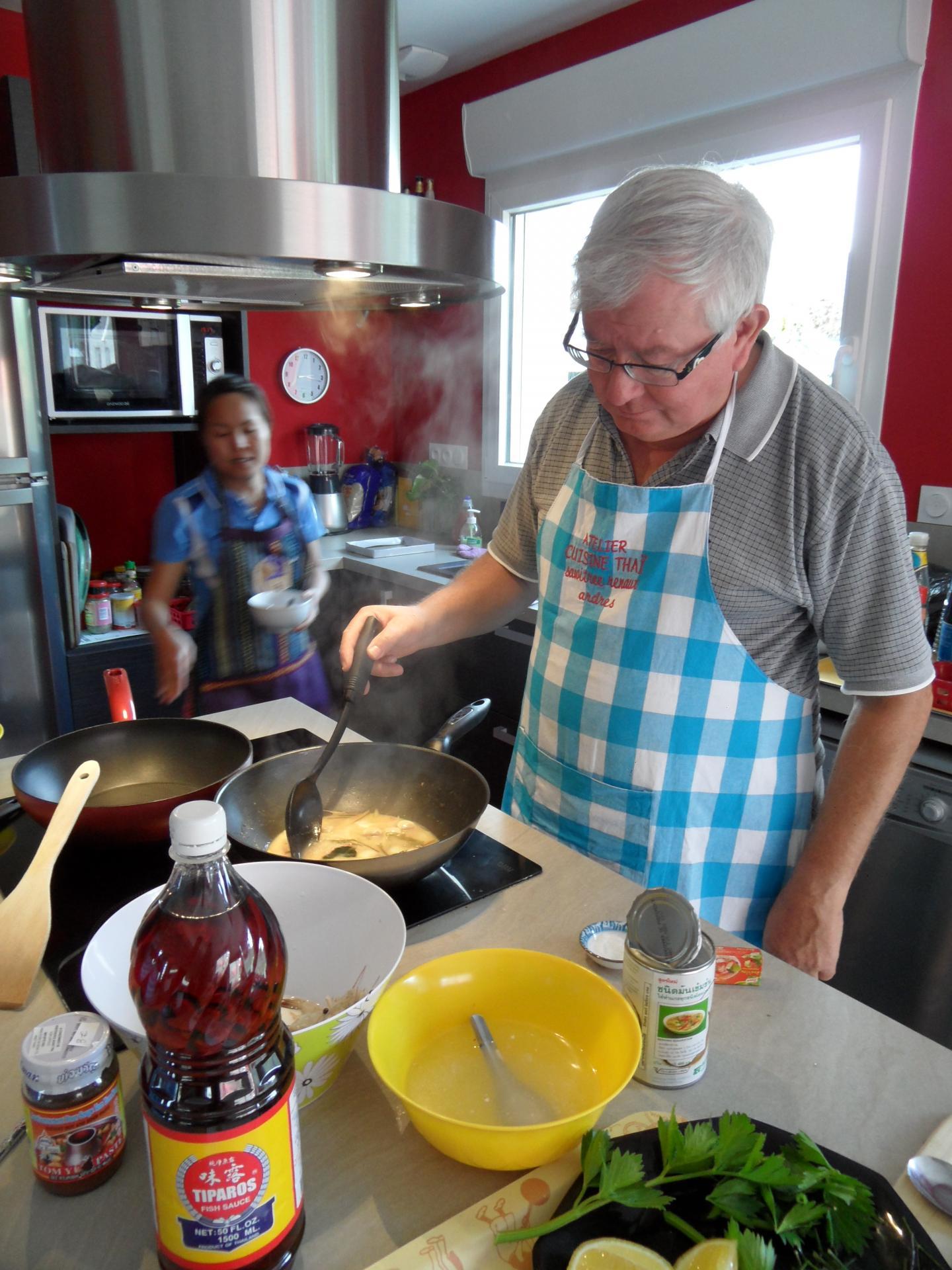 Tom Yam soupe de crevette